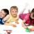 three-children-playing
